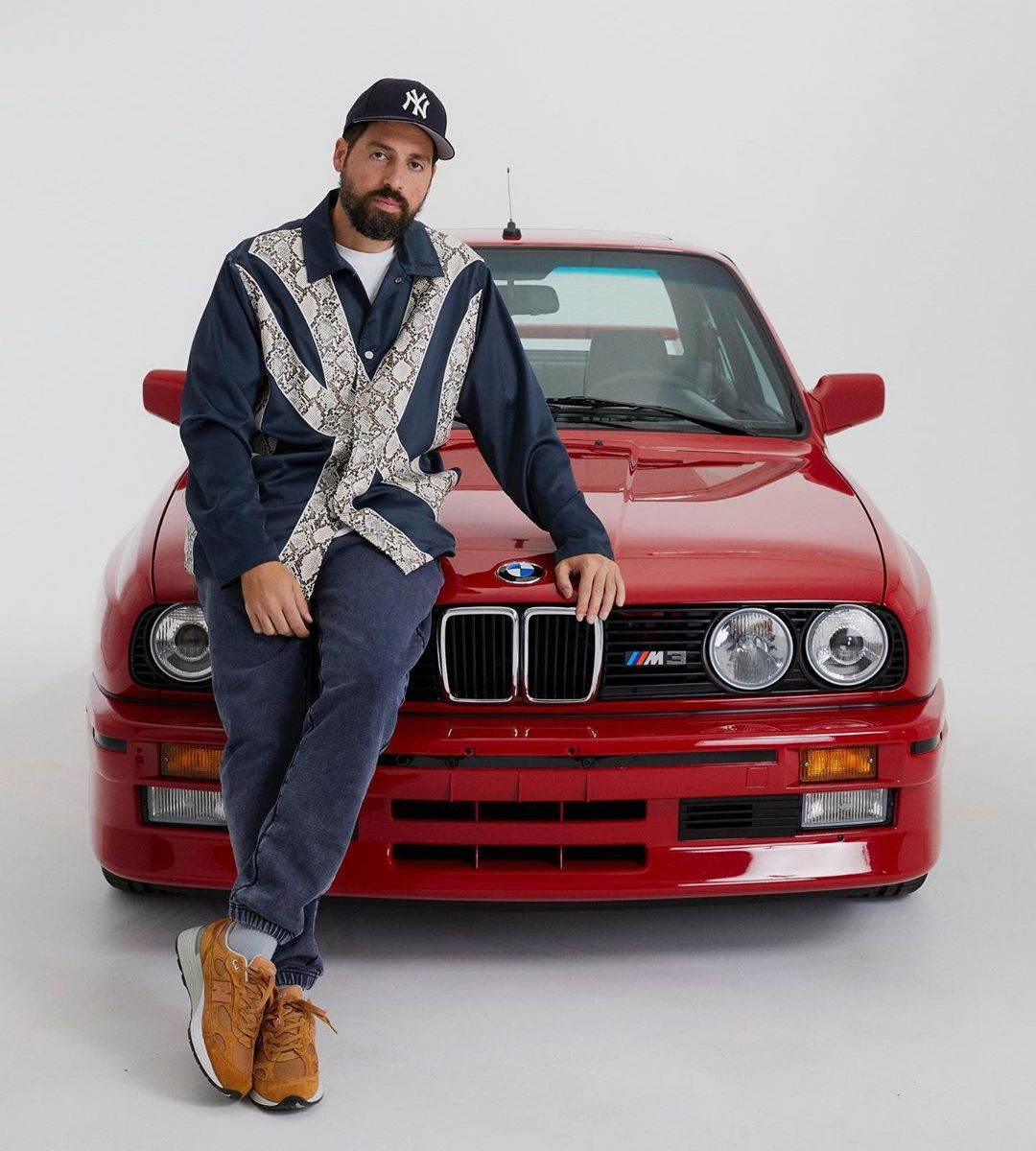 Kith Founder Ronnie Fieg with his BMW M3 E30