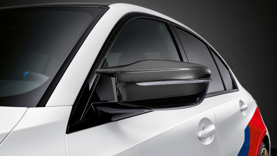 M Performance exterior mirror caps carbon fibre