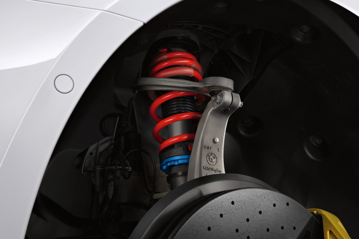 M Performance coilover suspension