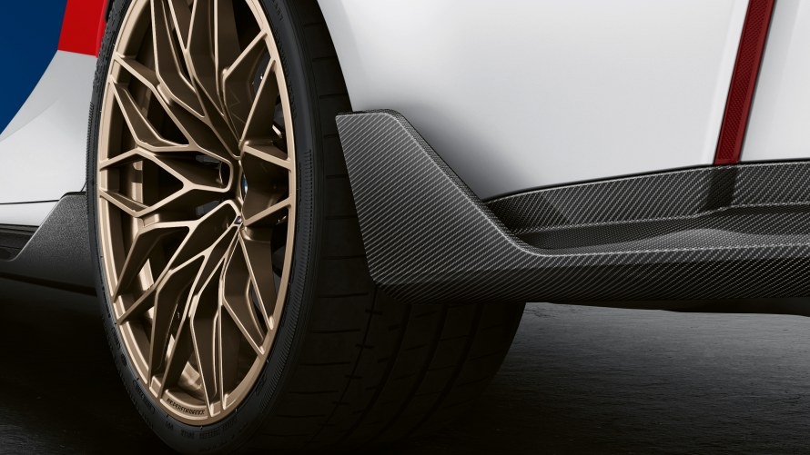 M Performance rear winglet carbon fibre