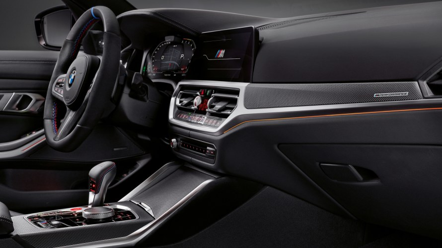 M Performance interior trim panels