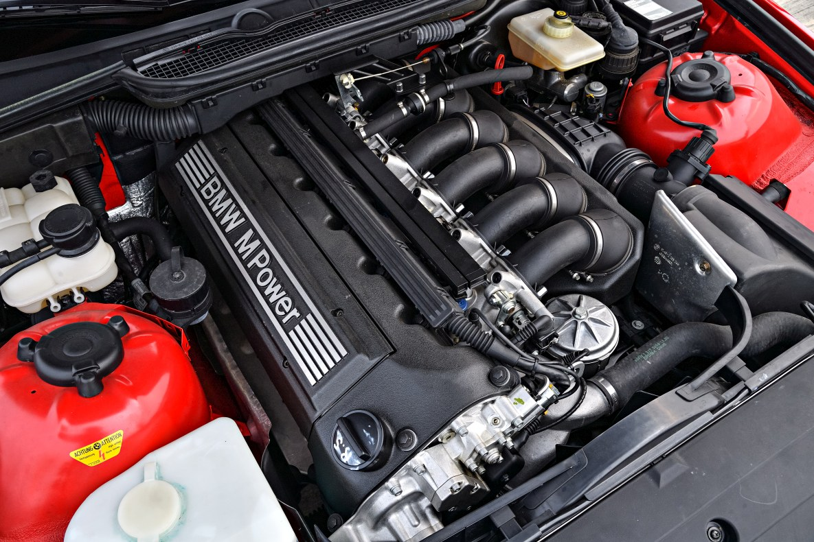 The BMW M3 E36 Compact Prototype engine of 1996