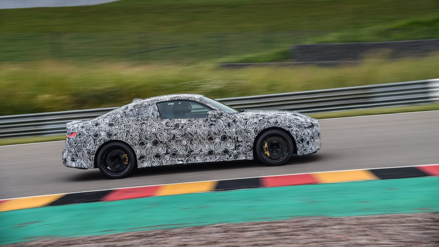 BMW M4 G82 on the Sachsenring