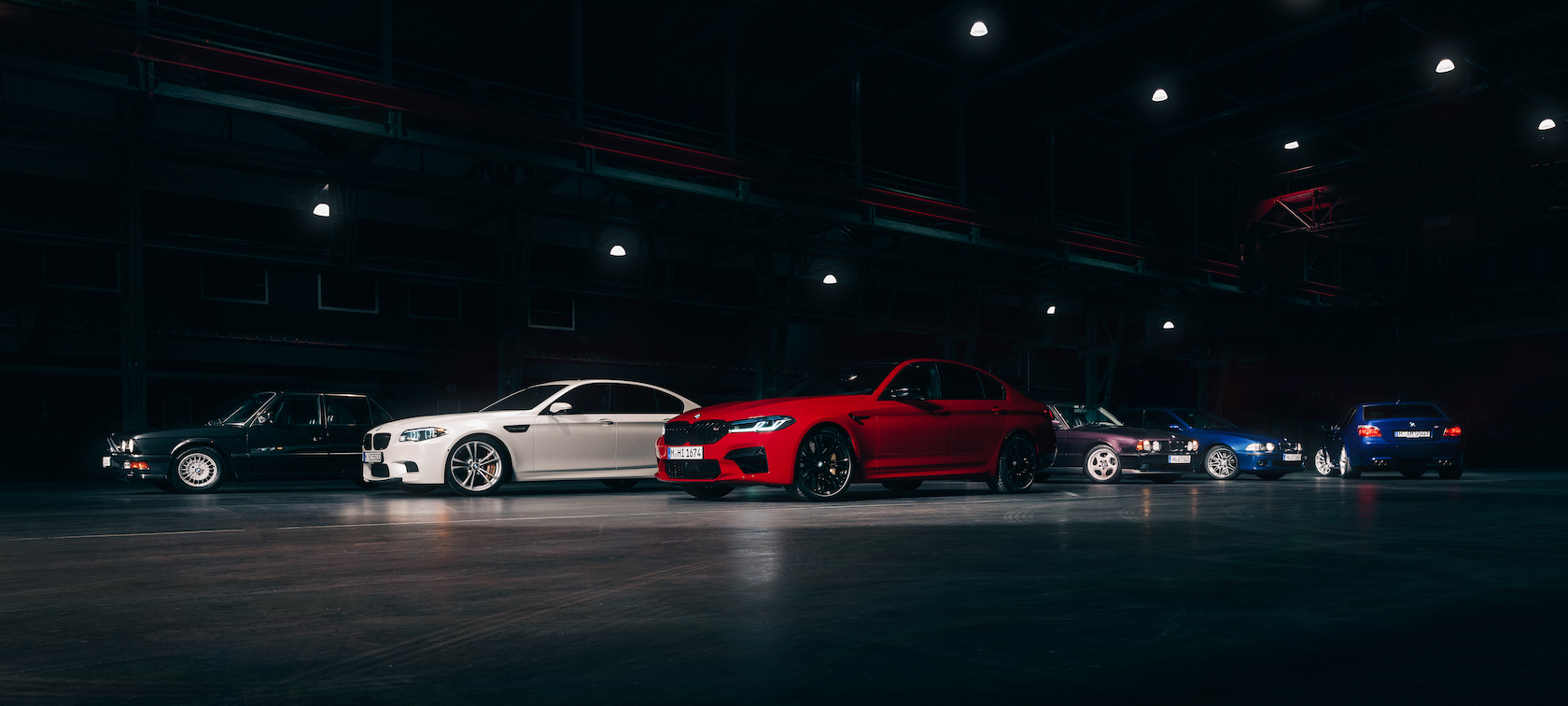 An Overview Of Every Generation Of The Bmw M5