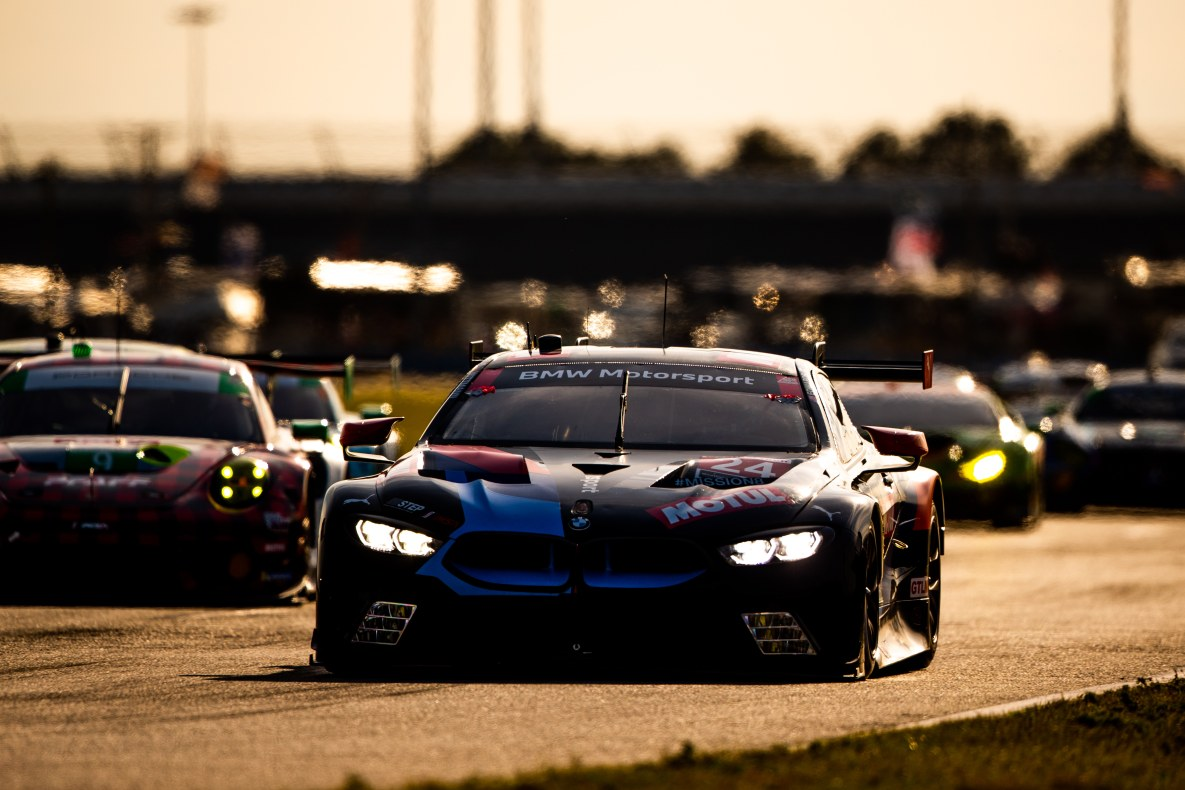BMW M8 GTE by Team RLL at the 24 hours in Daytona