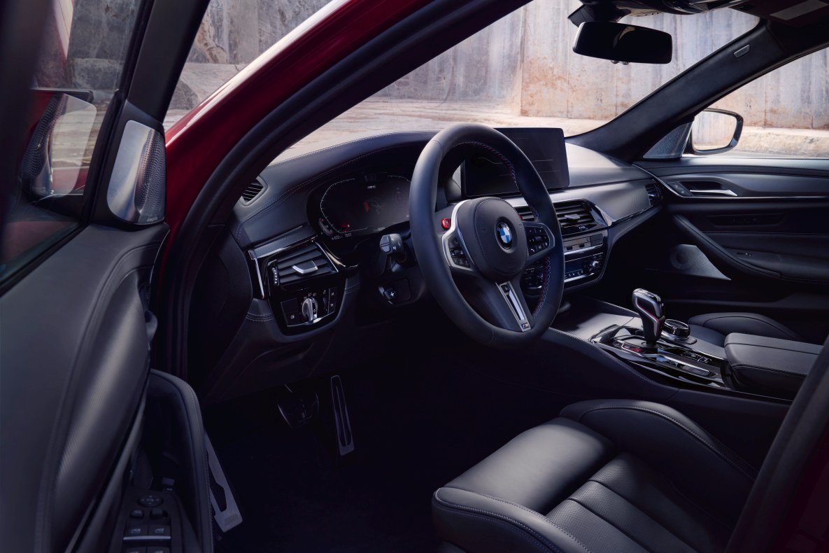 BMW M5 Competition full leather trim interior