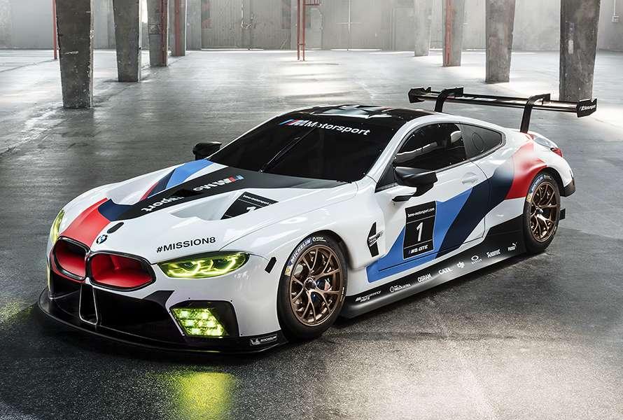 Der Neue BMW M8 GTE