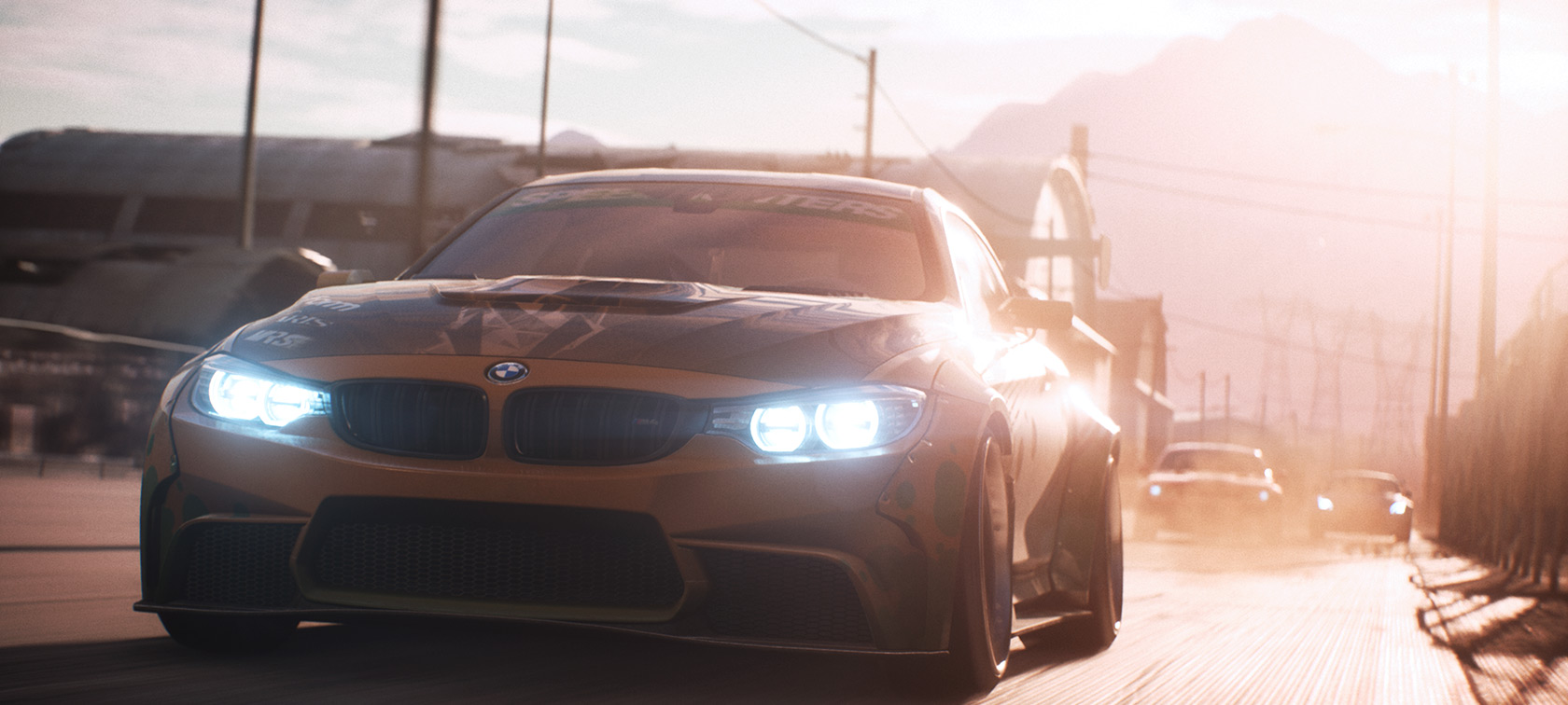 Need for Speed and BMW M: Stars and cars