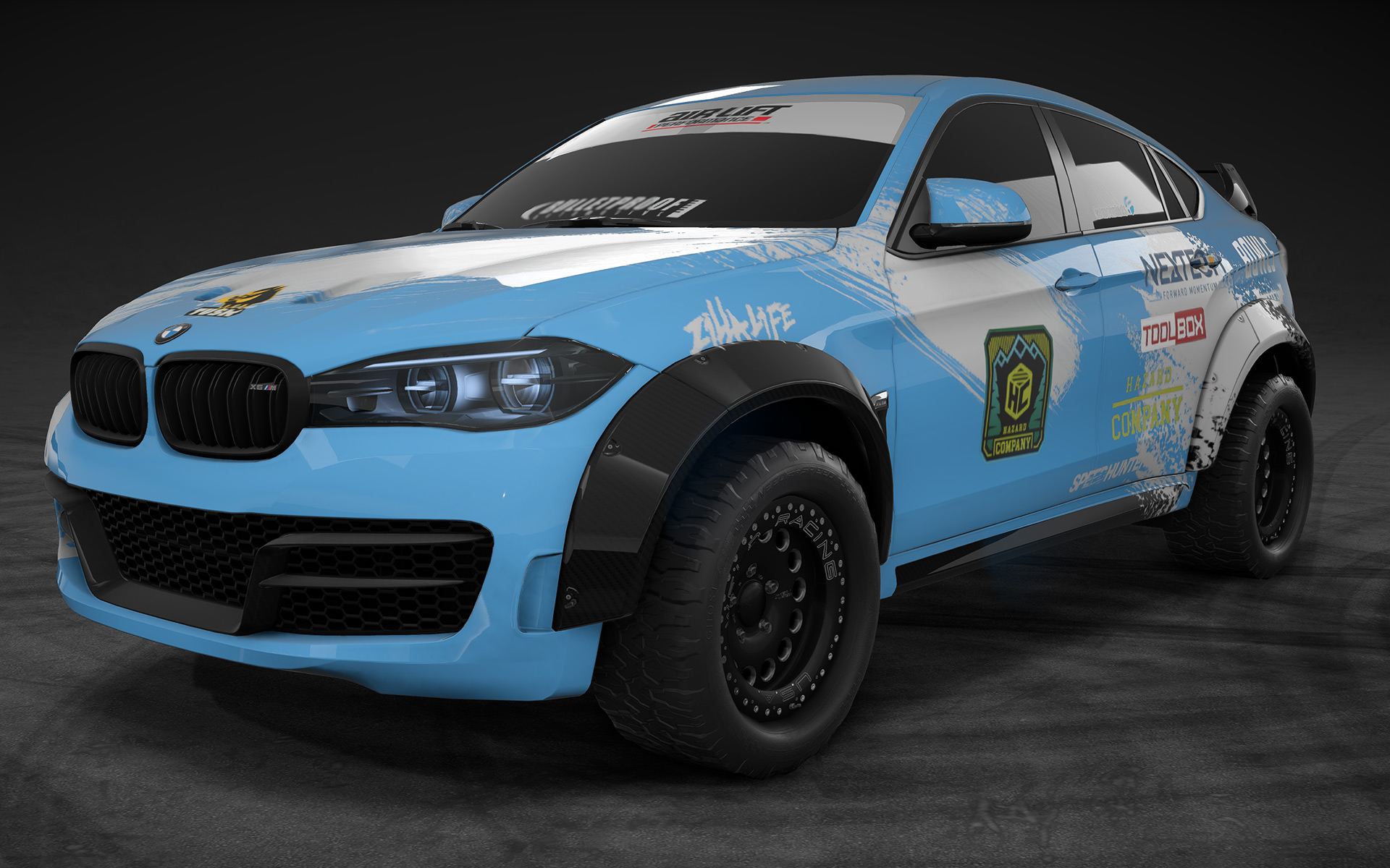 BMW X6 M in Need for Speed Payback