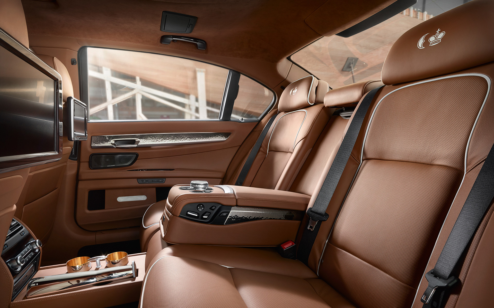 BMW Individual 760Li Sterling Interieur