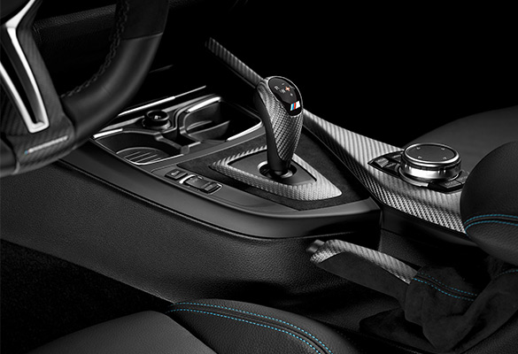 BMW M2 Coupé mit M Performance Parts Interieur