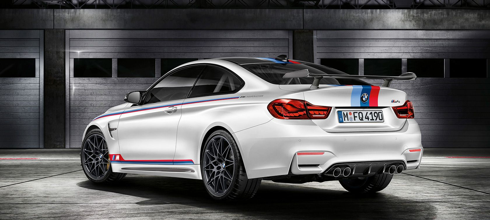 The bmw m4 dtm champion edition