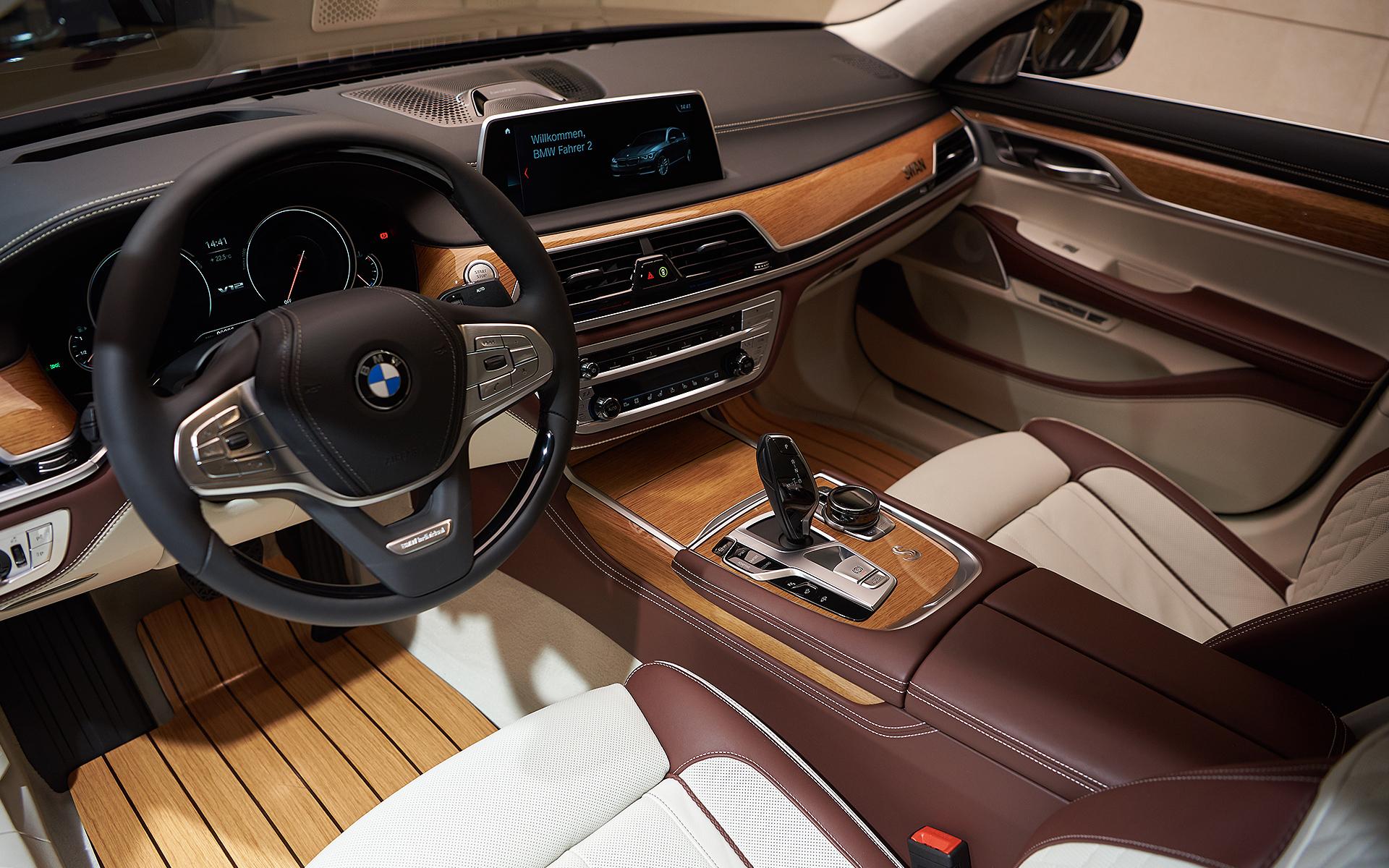 BMW M760Li Nautors Swan Interior