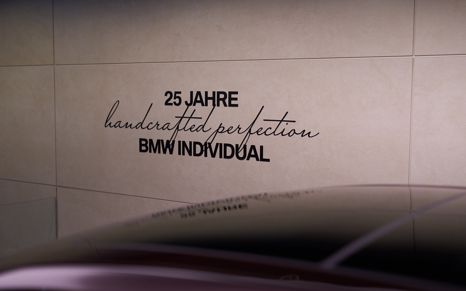 25 years BMW Individual