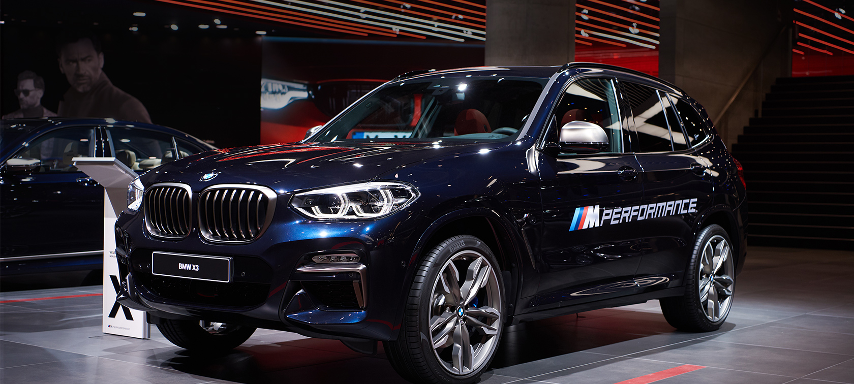 the bmw x3 m40i at the iaa. Black Bedroom Furniture Sets. Home Design Ideas