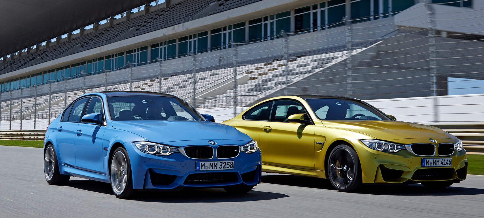 the suspension of the bmw m3 and bmw m4.