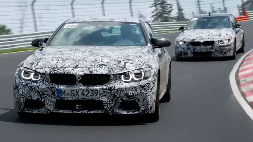 bmw design the suspension of the bmw m3 and bmw m4