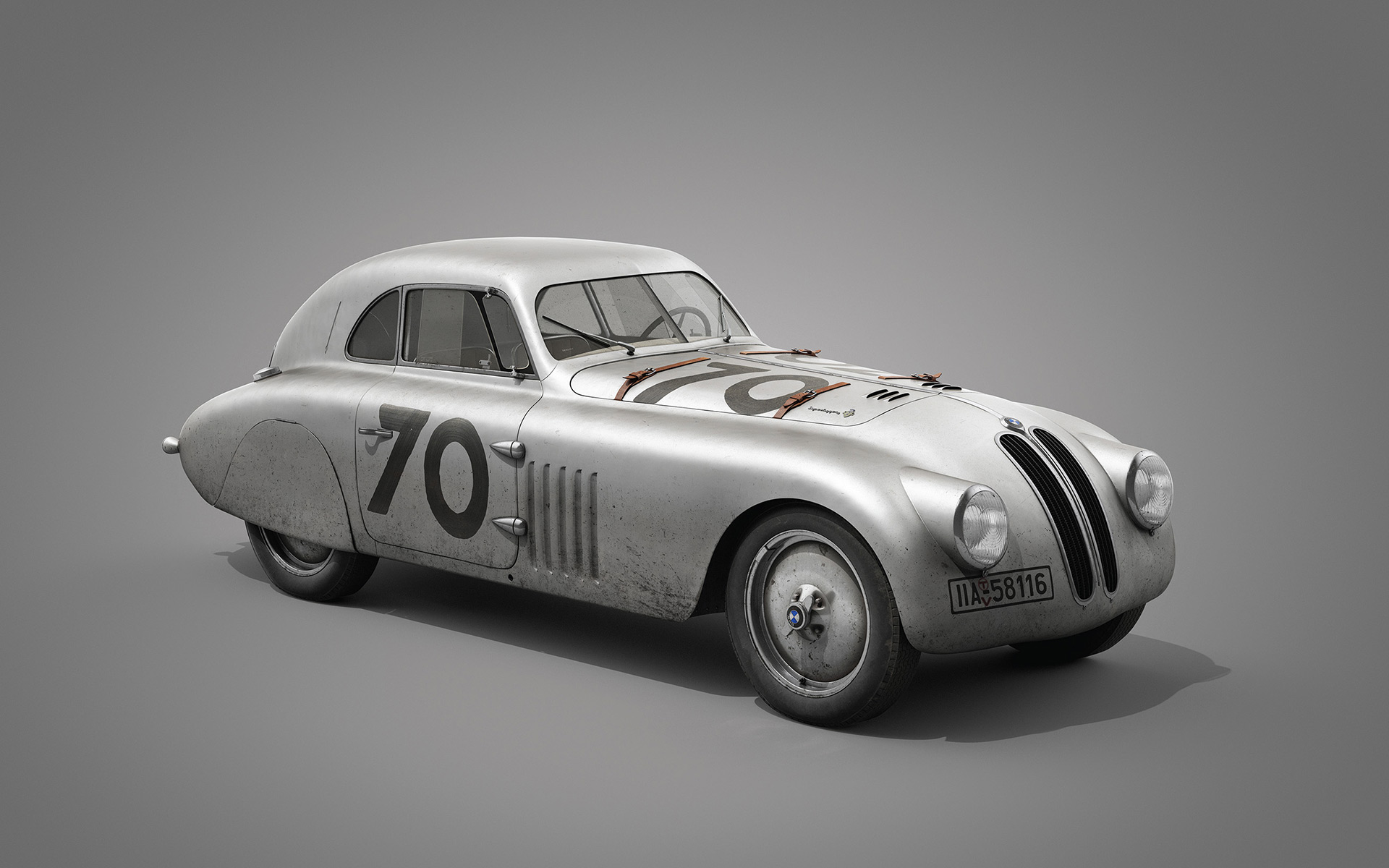 BMW 328 at the Mille Miglia