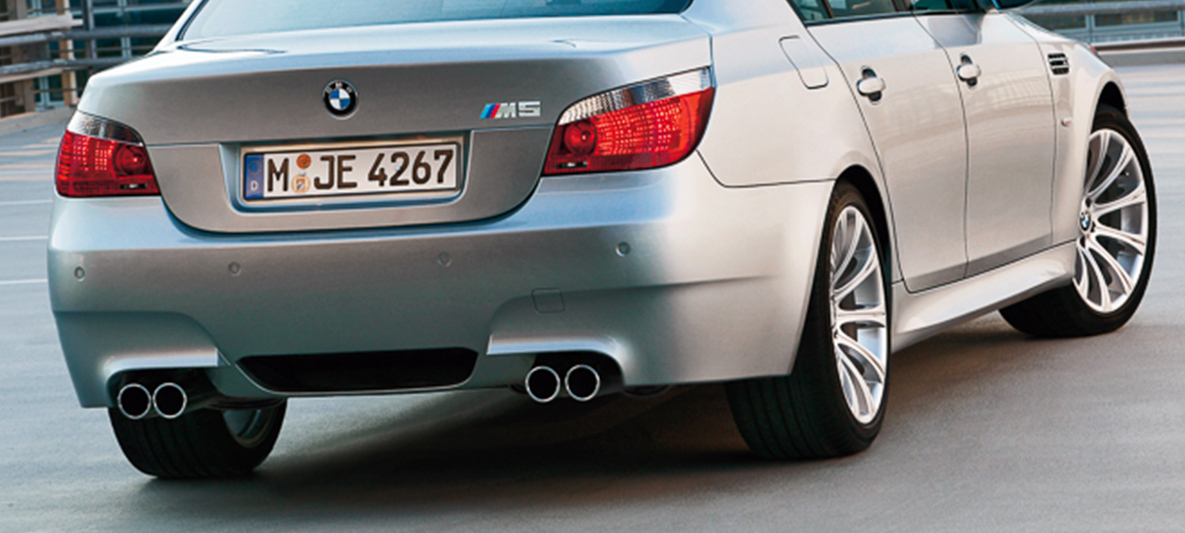 The Bmw M5 Of 2005