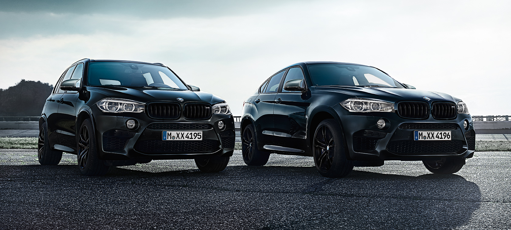 4e5f83101e4 Edition Black Fire of the BMW X5 M and the BMW X6 M