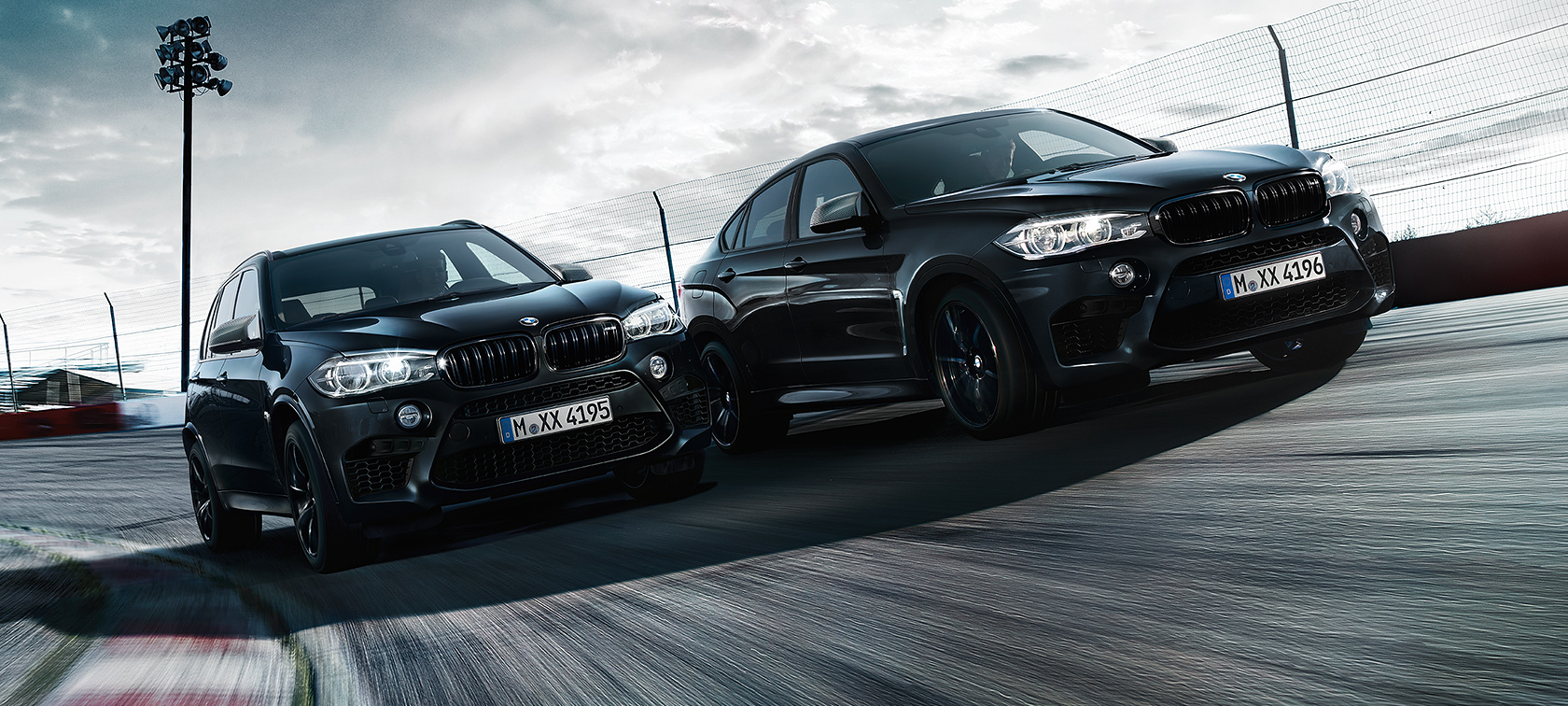 Bmw X5m And Bmw X6m As New Black Fire Edition