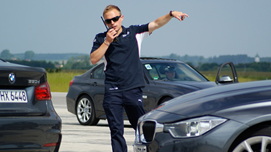Stefan Landmann, BMW Driving Experience Instructor