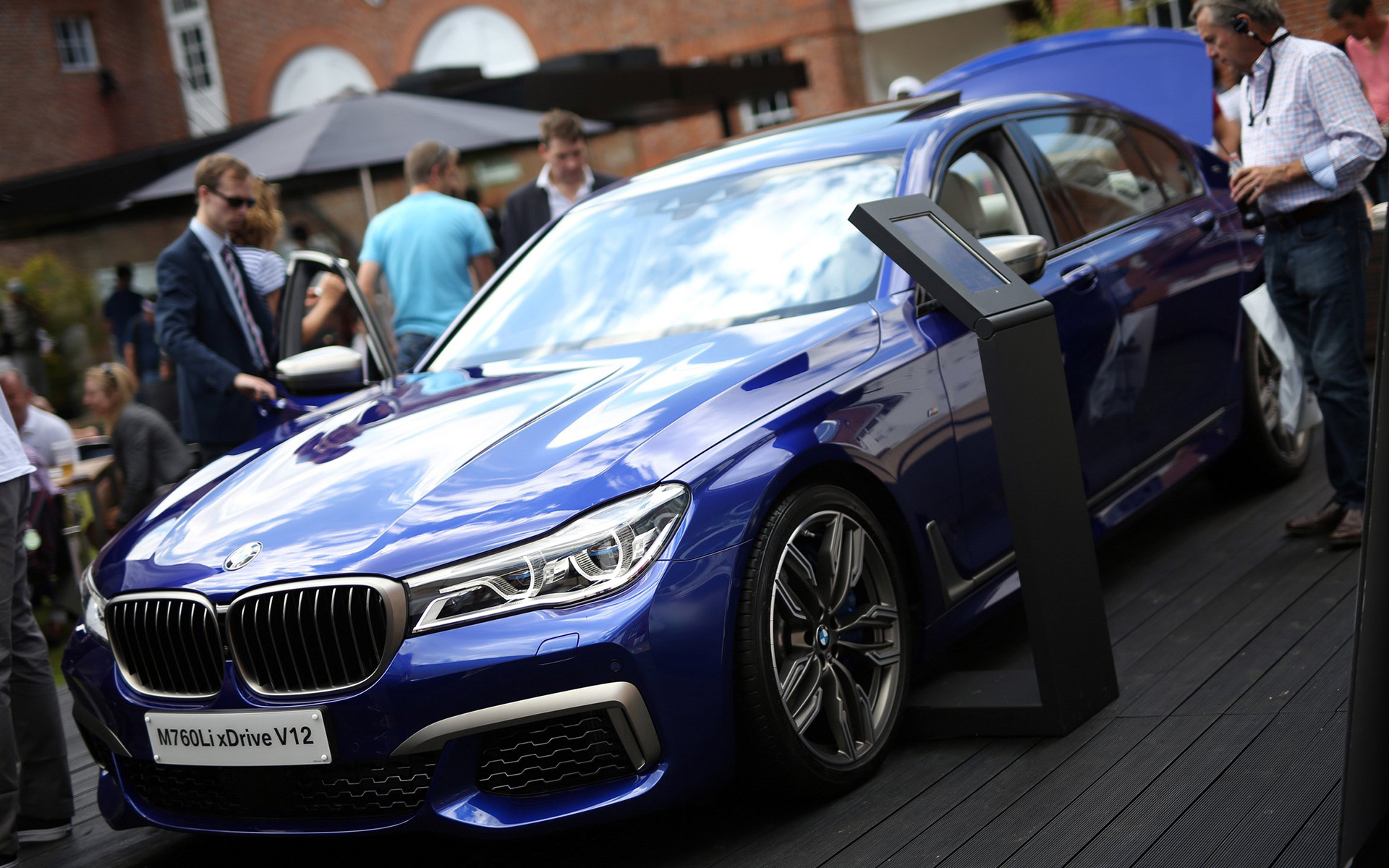 BMW M760Li xDrive, V12, Goodwood Festival of Speed