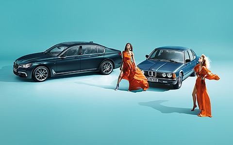 BMW 7er Edition 40 Jahre Luxus Innovation