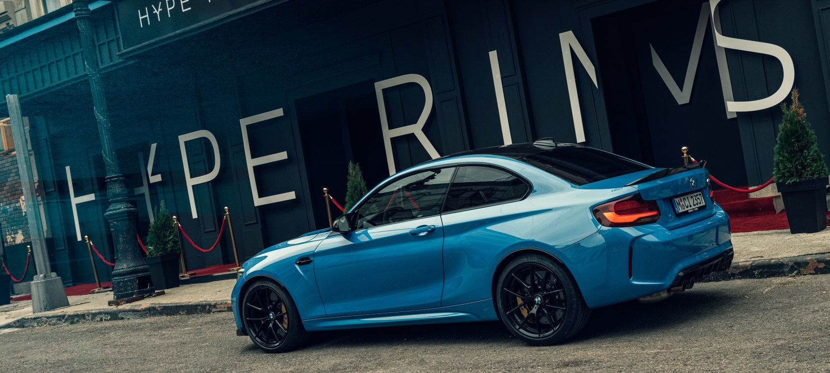 BMW M2 CS in M Town The Drop